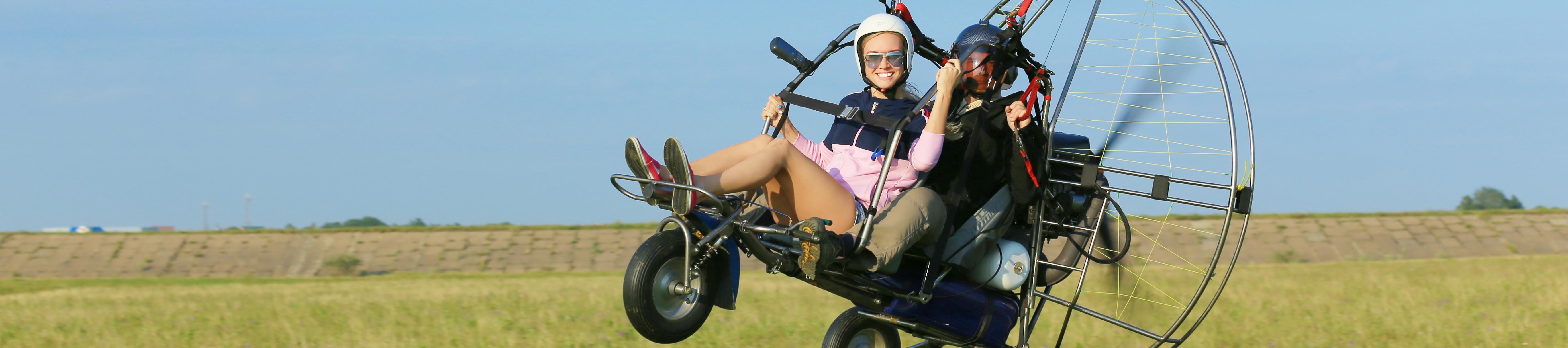 фото слайдера «паралёт с пассажиром»