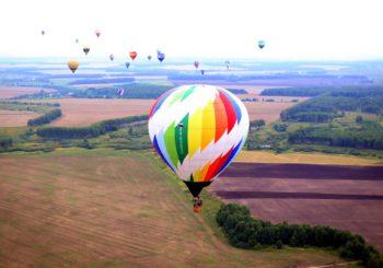 Наш утренний полёт 19 августа на фестивале «Небо России 2016»