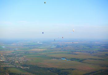 Фото наших полётов 18 августа на фестивале «НЕБО РОССИИ 2016»