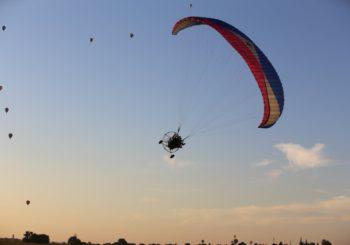 Фотографии полетов 12 августа — в субботу вечером.