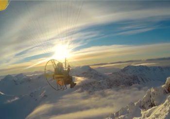 Последний зимний полет над Аляской
