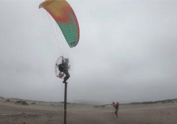 Можно ли летать на параплане в дождь?