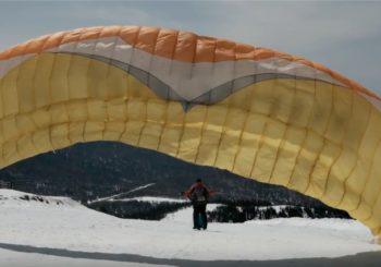 Полет на параплане в Шерегеше