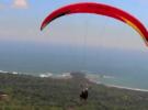 Параглайдинг над пляжем Доминикал, Коста-Рика