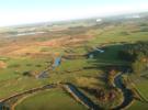 Дальний полет над живописными долинами Польши