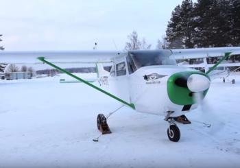 Обзор Cessna 172 на дизеле