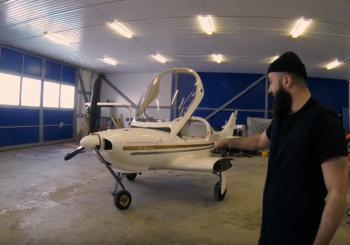 Как происходит покраска карбонового самолета Dynamic WT9