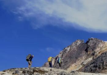 Параглайдинг в горах Колумбии