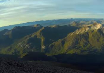 Восхождение и полет с самой высокой горы Шотландии