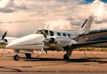 Самолет Beechcraft Duke