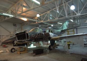 Реставрация самолета Beechcraft Duke