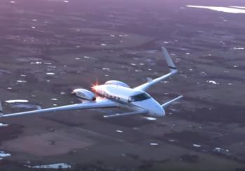 Уникальный самолет Beechcraft Starship