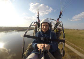 Открытие сезона полётов 2019 на паралёте в Рязани