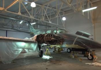 Реставрация самолета Beechcraft Duke. Часть 2