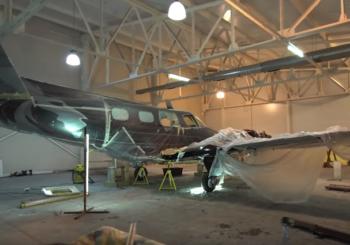 Реставрация самолета Beechcraft Duke. Часть 3
