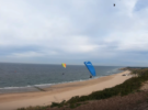 Полет с самой высокой дюны в Нидерландах