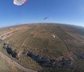 Январские полеты на параплане в Мирлефте, Марокко