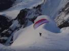 Восхождение и полет с вершины Серро-Торре