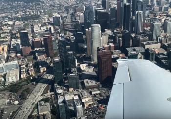 Обзор Cirrus Vision Jet. Полет в Лос-Анджелесе