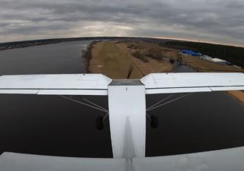 Полет на летающем внедорожнике