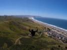 Полет на параплане в Морро Бэй, Калифорния
