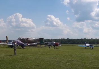 Обзор частной коллекции самолетов Вильга 35, Як-18Т, ZLIN 43, Як-18А