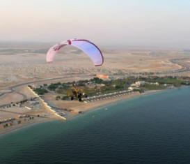 Воздушные туры на паратрайках в Катаре