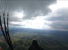 Полет над горным массивом Боржава
