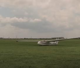 Полет на планере L-13 Blanik