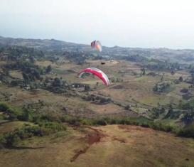 Полеты на параплане в Кении