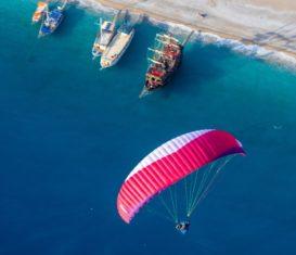 Полет на параплане: от первых шагов до маршрутных полётов