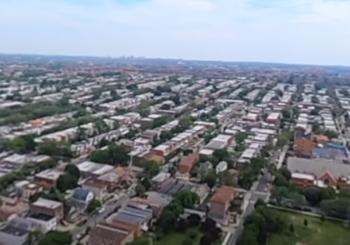 Полет вокруг Манхэттена и Статуи Свободы, 360 видео